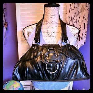 Handbags - 💥Large Black Patent Leather Purse💥